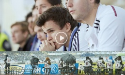 Portada video despedida de la liga de Fútbol. Vídeo con fotos